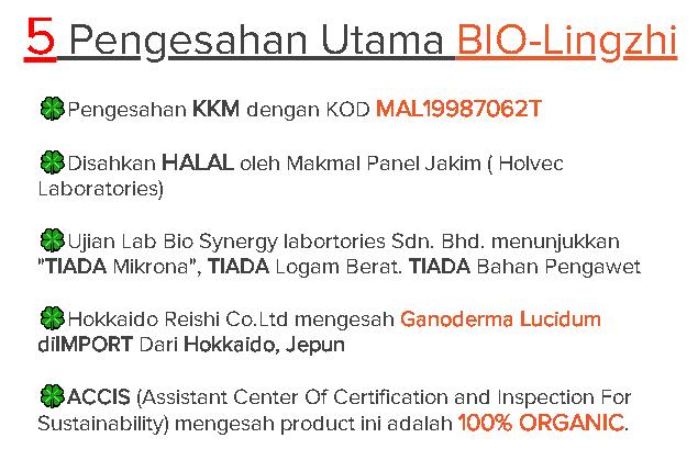 biolingzhi kkm