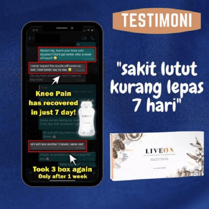 LIVEON Wellous Malaysia testimomial 20